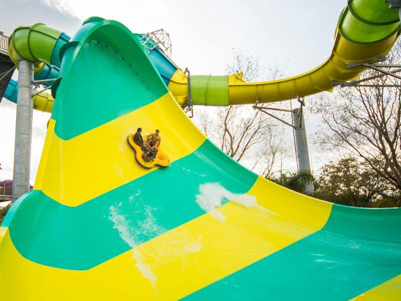 Parque Adventure Island Tampa Orlando: Colossal Curl