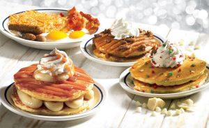 Restaurantes iHop em Orlando: comida