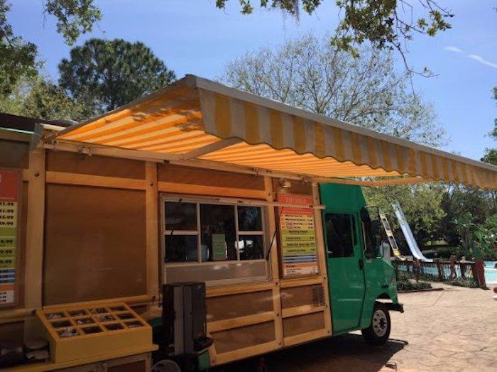 Parque Adventure Island Tampa Orlando: Island Taco Truck