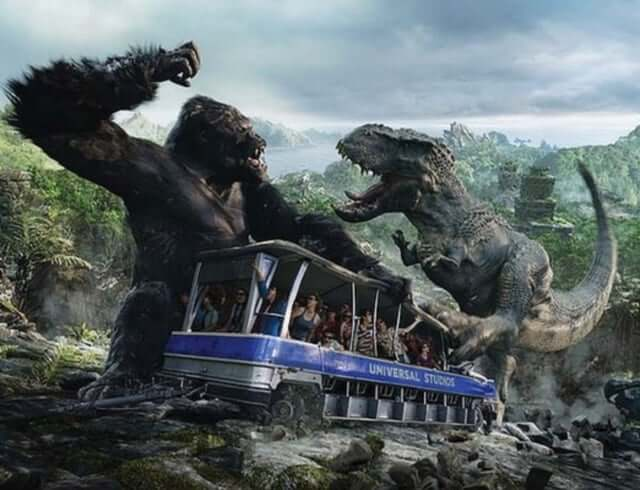 7 atrações e brinquedos do Parque Islands of Adventure Orlando: Skull Island: Reign of Kong