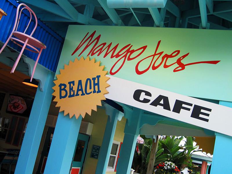 Parque Adventure Island Tampa Orlando: Mango Joe's