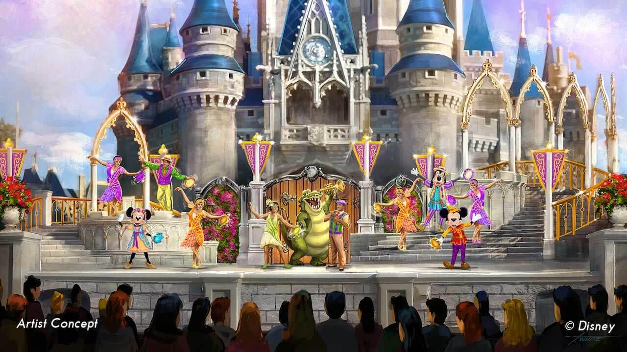 Show Mickey's Royal Friendship Faire no Disney Magic Kingdom Orlando 2