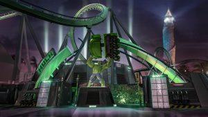 7 atrações e brinquedos do Parque Islands of Adventure Orlando: The Incredible Hulk Coaster
