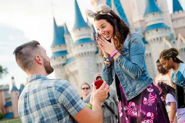Pedidos de casamento na Disney e Orlando 6