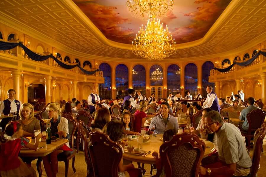 Disney Orlando para adultos: restaurante Be Our Guest