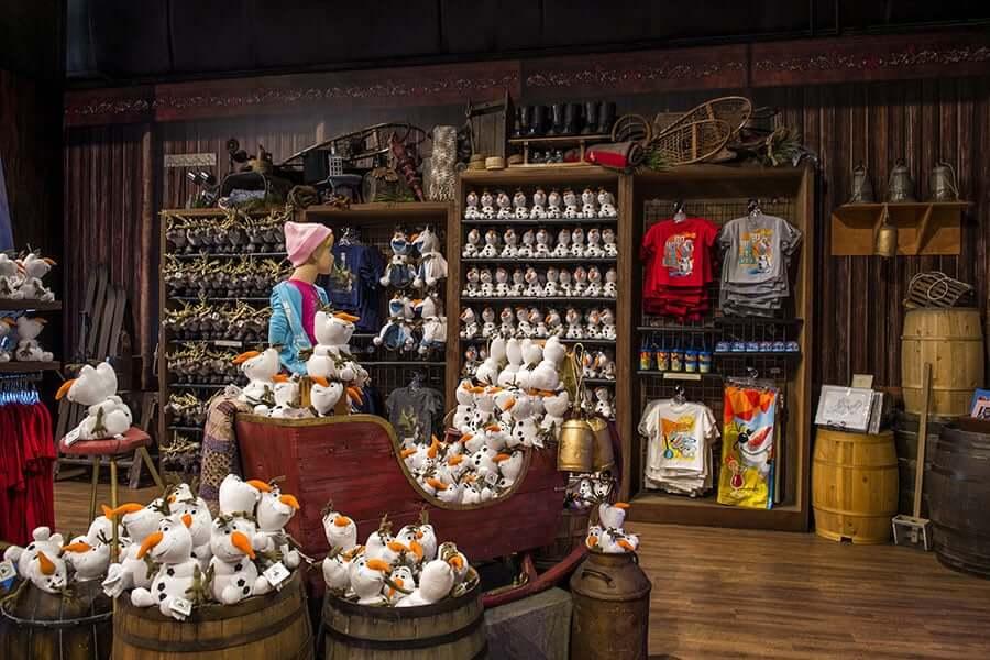 Loja do Frozen na Disney em Orlando 3