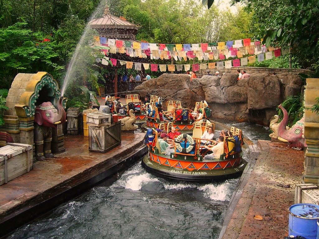 7 atrações e brinquedos do Parque Disney Animal Kingdom Orlando: Kali River Rapids