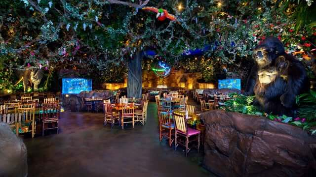 Restaurante Rainforest Cafe Orlando 2