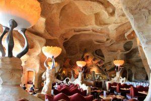 Restaurante Mythos no parque Islands of Adventure Orlando: ambiente interno