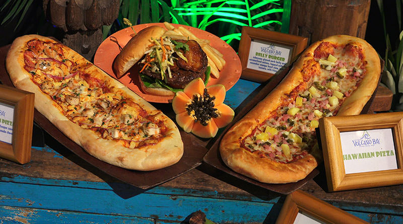 Parque Volcano Bay em Orlando: alimentação