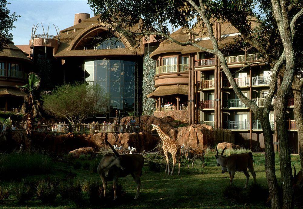 Descontos em hotéis na Disney Orlando: Hotel Disney's Animal Kingdom Lodge