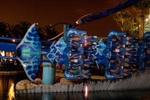 Summer Nights do parque SeaWorld Orlando: montanha-russa Manta
