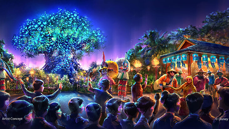 Mundo Avatar na Disney Orlando