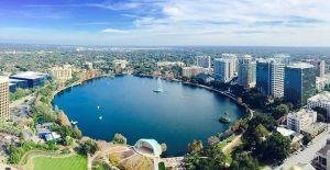 7 parques e reservas naturais em Orlando: Parque Lake Eola