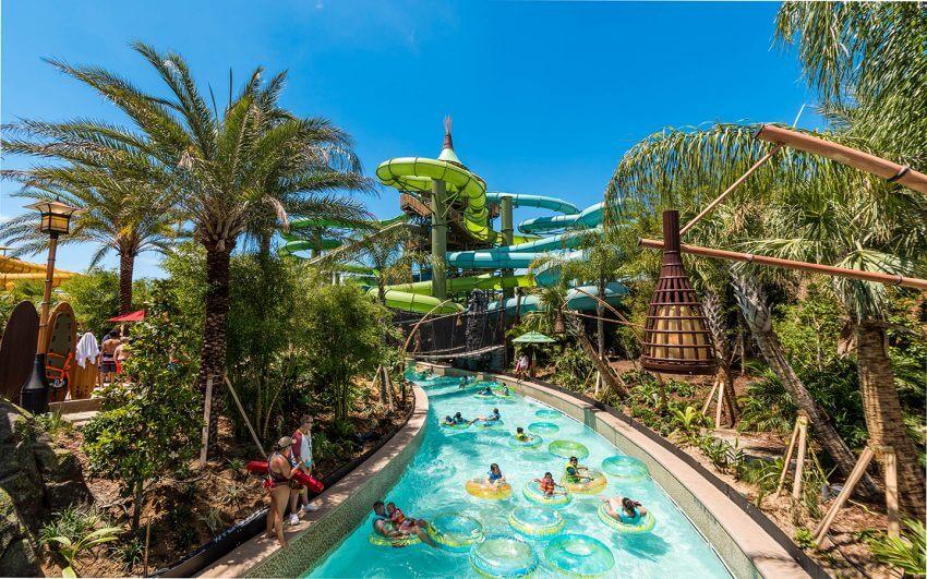 Parque Volcano Bay em Orlando: piscina