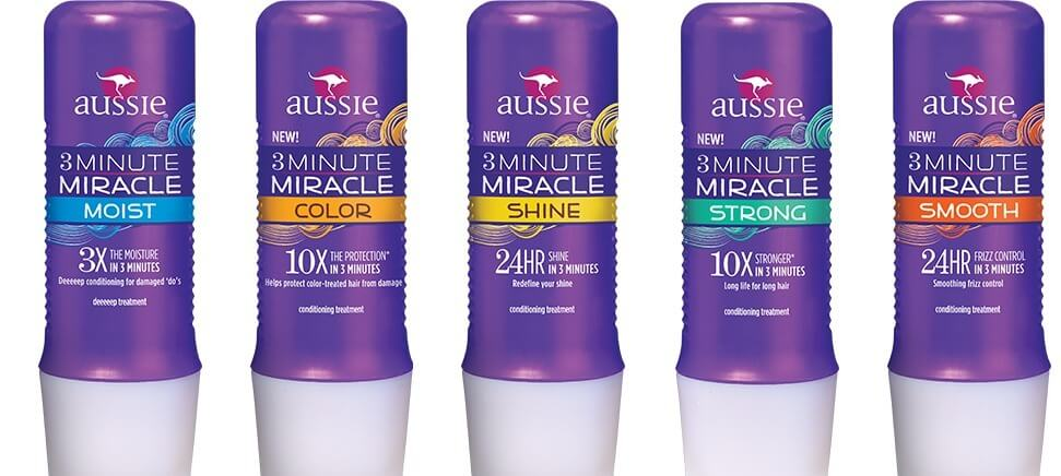 Produtos de cabelo da Aussie em Orlando 2