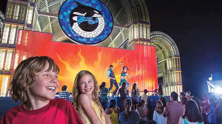 Summer Nights do parque SeaWorld Orlando: atrações