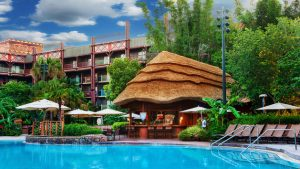 Hotel Disney Animal Kingdom Lodge em Orlando: piscina