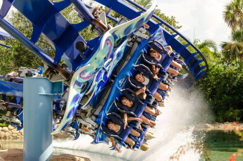 7 atrações e brinquedos do Parque Seaworld em Orlando 6
