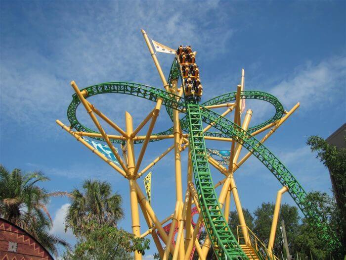 7 atrações e brinquedos do Parque Busch Gardens em Orlando: Cheetah Hunt