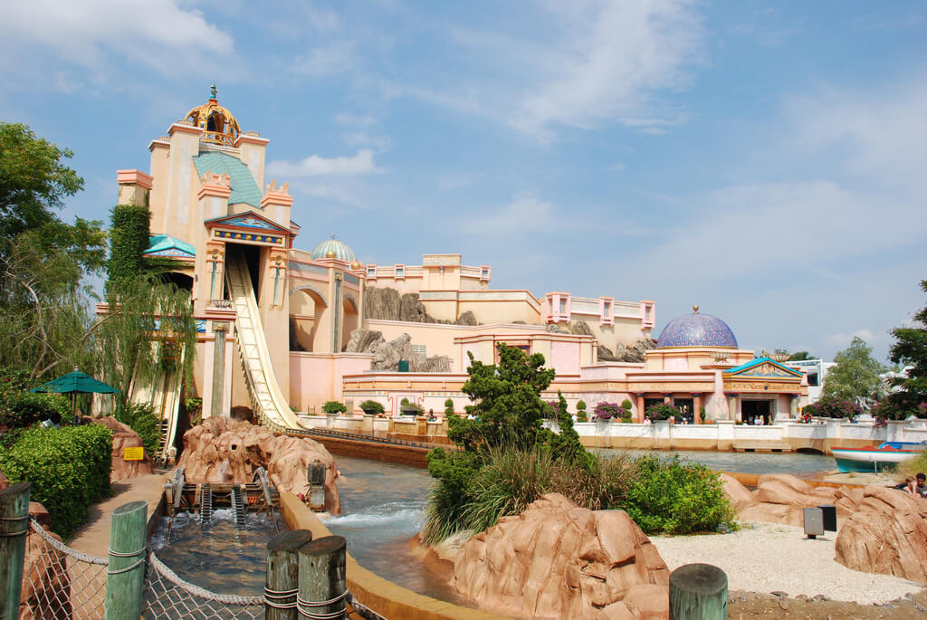 Parque SeaWorld em Orlando: Journey to Atlantis