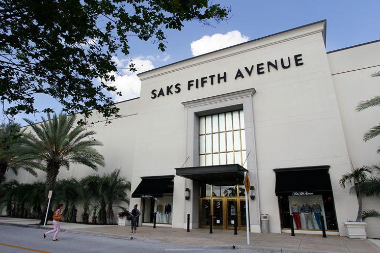 Lojas Saks Fifth Avenue em Orlando