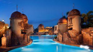 Hotel Disney's Caribbean Beach Resort em Orlando: piscina