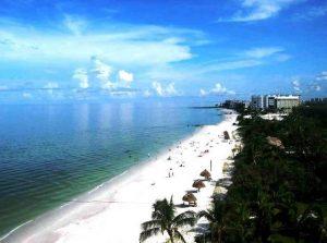 Naples na Flórida: praia