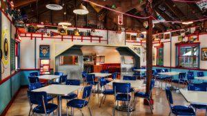 Restaurantosaurus em Orlando: dentro do restaurante
