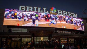 Os melhores restaurantes da Universal CityWalk em Orlando: restaurante NBC Sports Grill & Brew