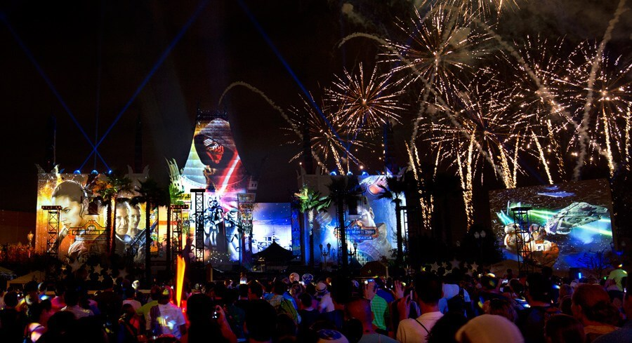 Parque Hollywood Studios da Disney Orlando: Symphony in The Stars: Galactic Spectacular