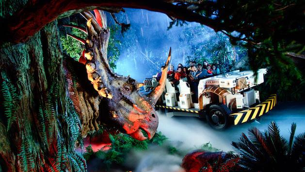 7 atrações e brinquedos do Parque Disney Animal Kingdom Orlando: DINOSAUR