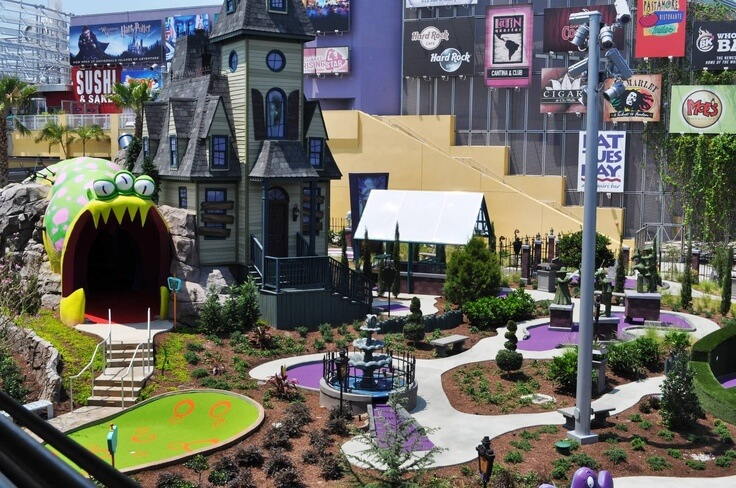 O que fazer na Universal Citywalk(atrações): Golfe