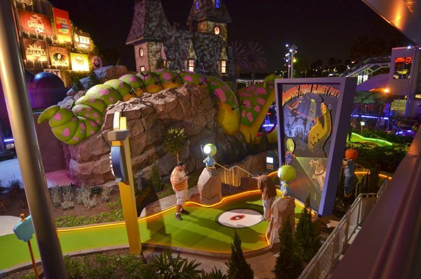O que fazer na Universal Citywalk(atrações): Hollywood Drive-In Golf