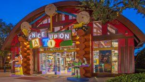 Melhores lojas para compras no Disney Springs em Orlando: loja Once Upon a Toy