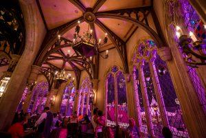 Restaurantes do parque Disney Magic Kingdom em Orlando: restaurante Cinderella's Royal Table