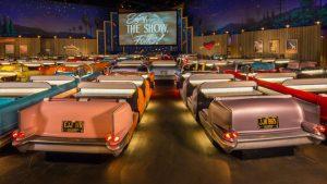 Restaurantes do parque Disney Hollywood Studios em Orlando: Sci-Fi Dine-In Theater Restaurant