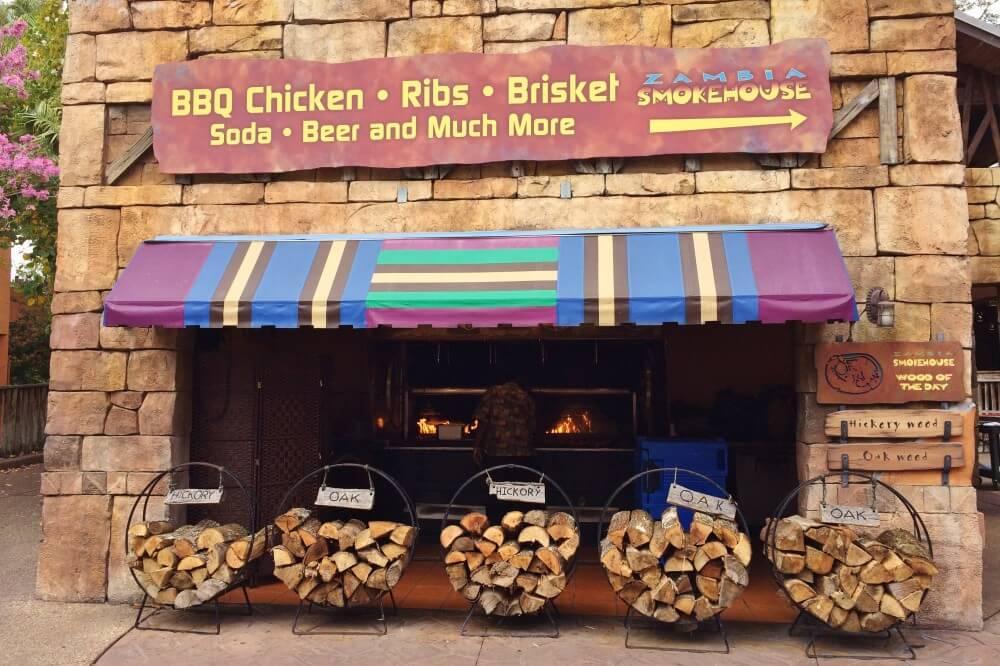Parque Busch Gardens em Tampa: Zambia Smokehouse
