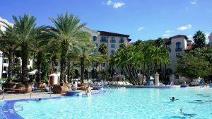 Hotel do Hard Rock na Universal Orlando: piscina do hotel