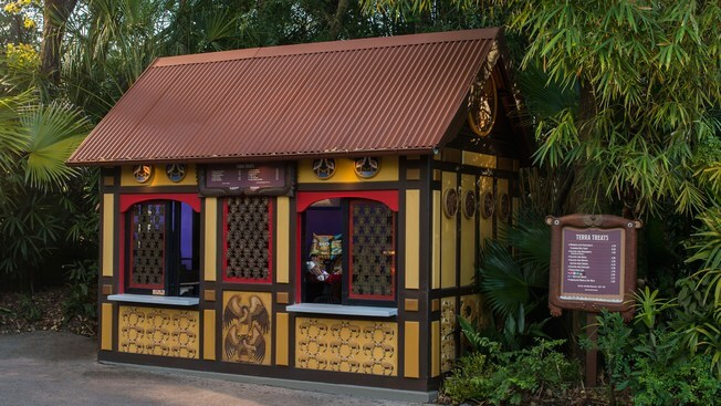 Restaurantes do parque Disney Animal Kingdom em Orlando: Terra Treats