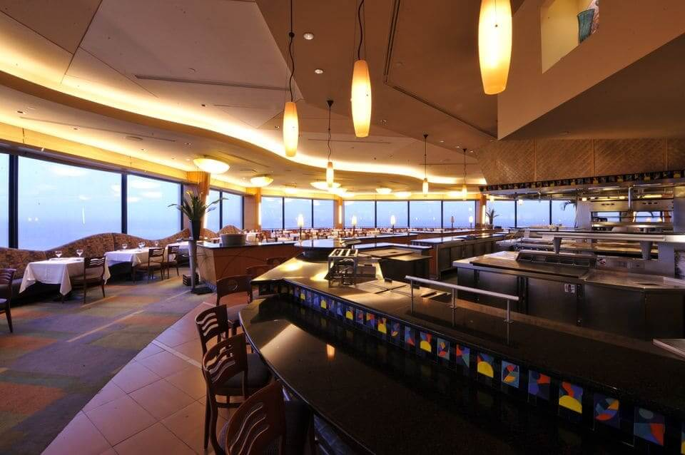 7 melhores cafés e bares de Orlando: The Bar at California Grill