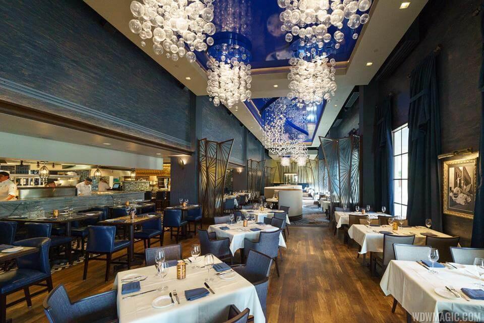 Restaurante Flying Fish na Disney Orlando 3