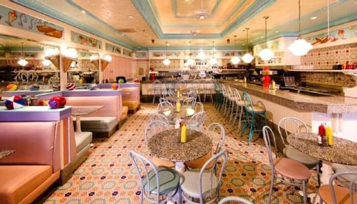 Lanchonete Beaches & Cream na Disney em Orlando