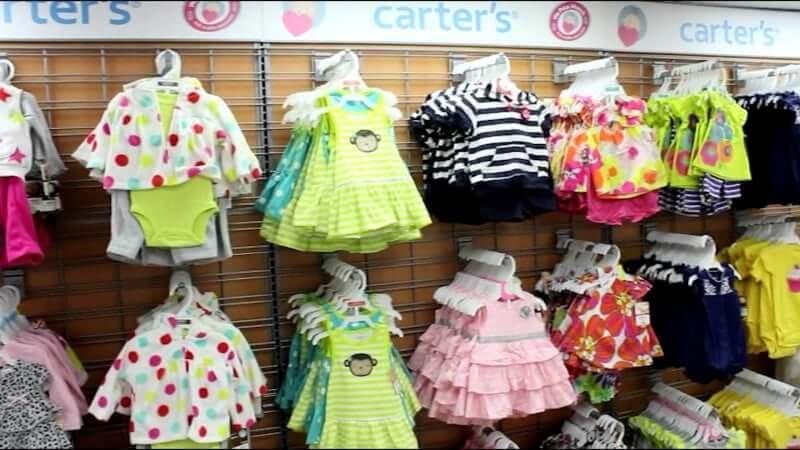 Melhores lojas para o enxoval do bebê em Orlando: loja Carter's