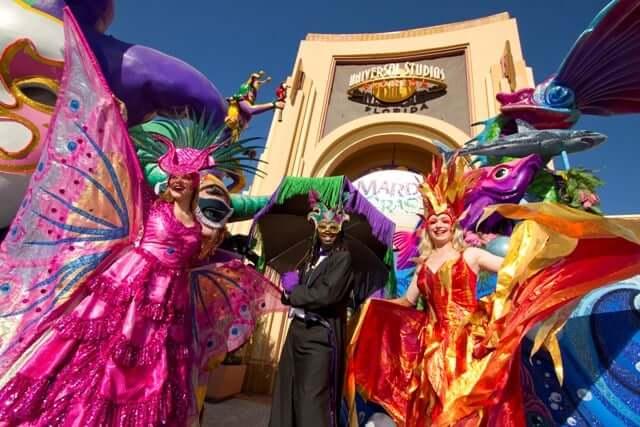 Feriados em Orlando em 2018: Mardi Grass - carnaval