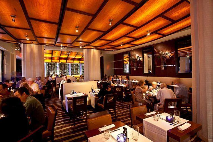 O que fazer à noite em Winter Park: restaurante Luma on Park