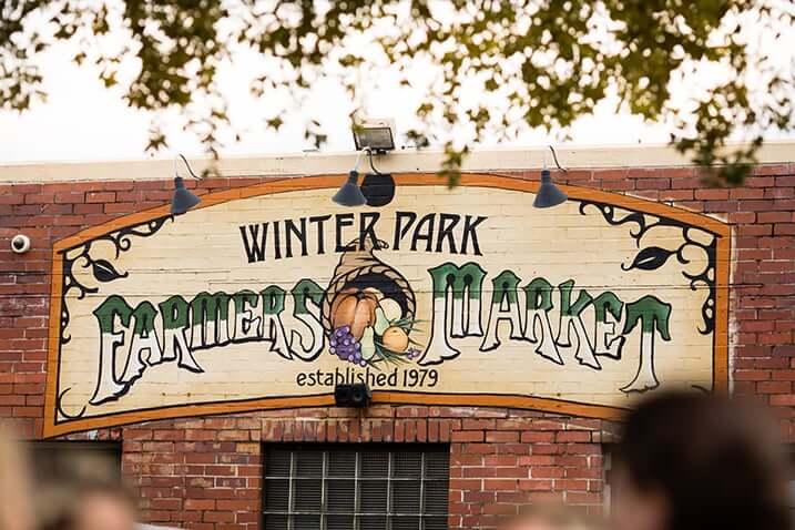 Compras em Winter Park: Farmer's Market