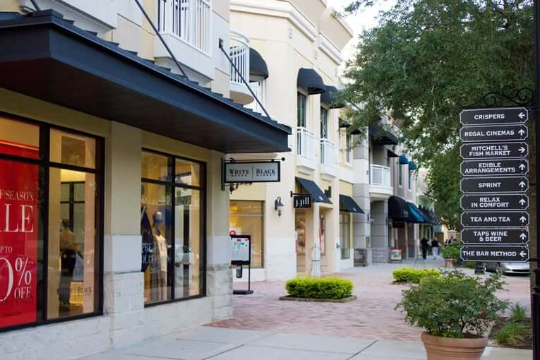 Compras em Winter Park: Shopping Winter Park Village