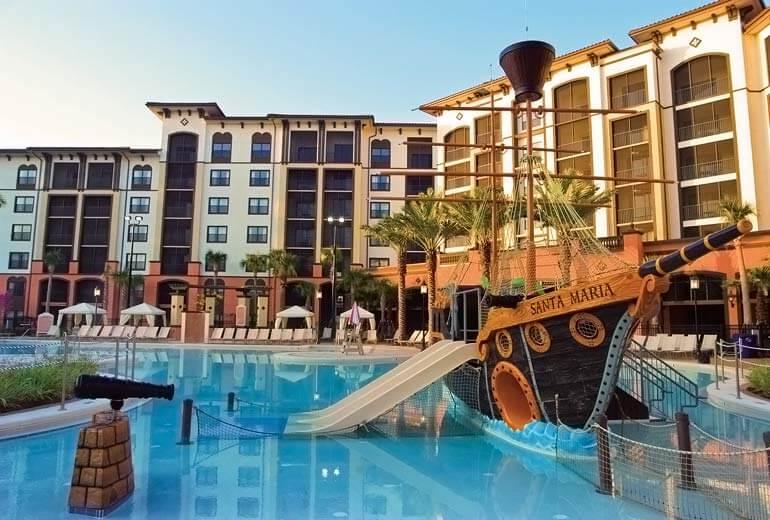 Hotéis bons para família em Orlando:hotel Sheraton Vistana Villages Resort Villas