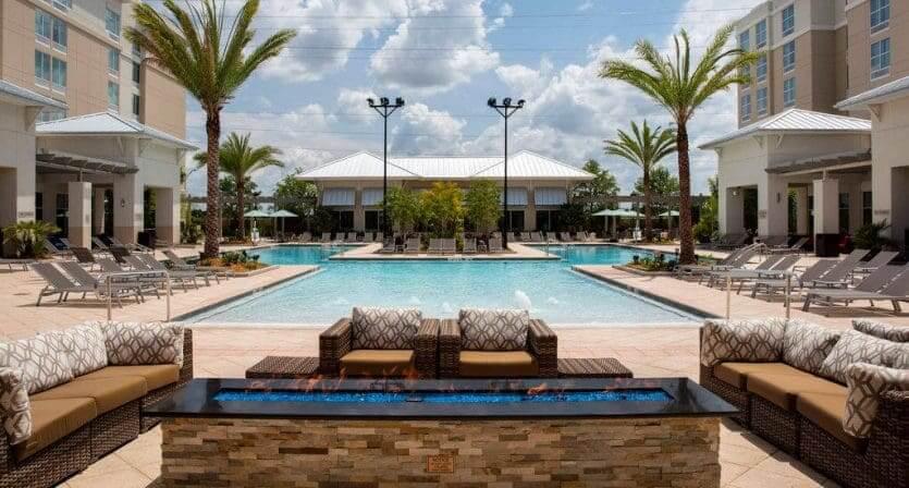 Hotéis perto da Disney em Orlando: hotel SpringHill Suites by Marriott Orlando at Flamingo Crossings